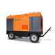 big construction machinery use diesel portable air compressor