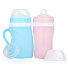 Wholesale Baby Products Silicone Feeding Baby Bottle Bpa Free For Child