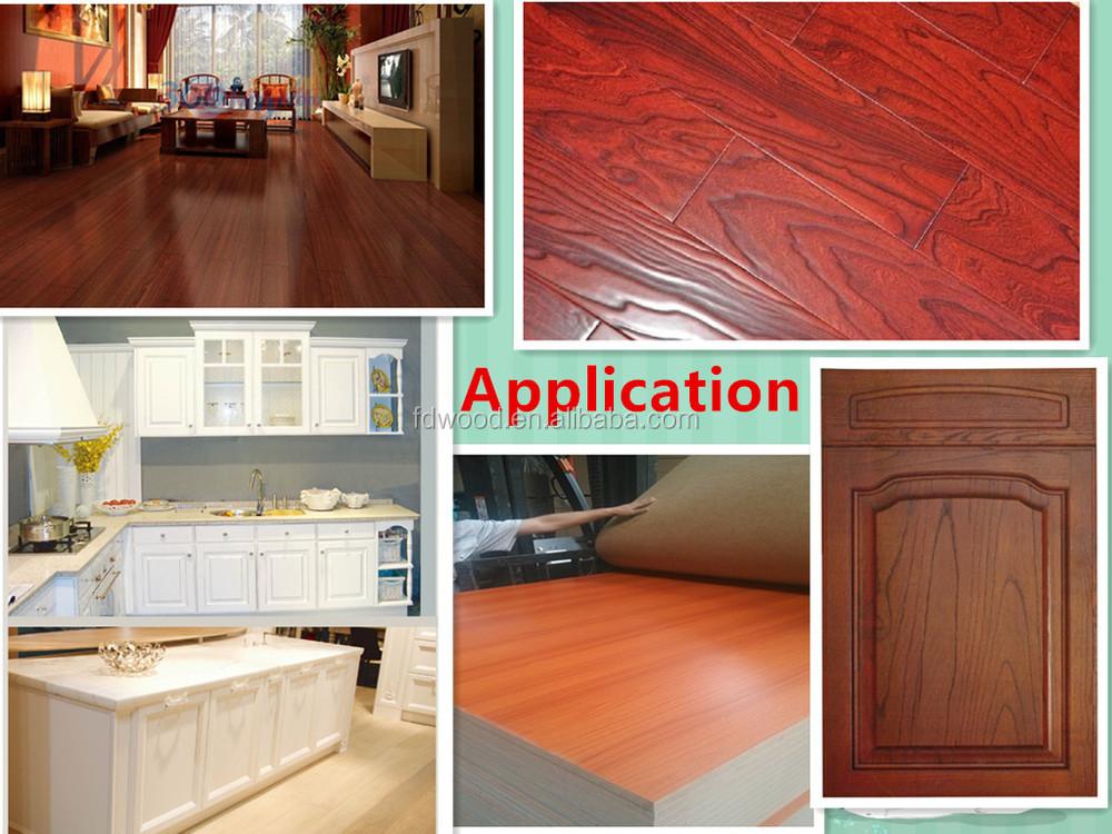 Wood Grain Printed Decorative Base Paper For Furniture Melamine ...
