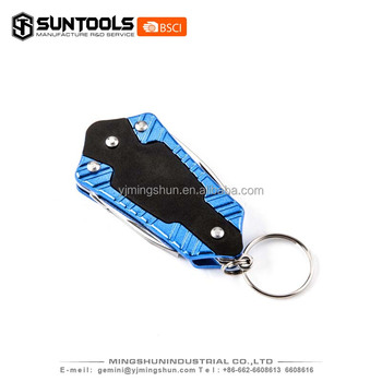 Mini Prmotion Multi color pocket knife with keychain