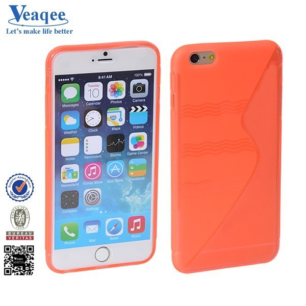 Veaqee china factory one hot s line tpu accessories for iphone 6 plus