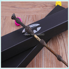 Newest magic wand Harry Potter wand 35cm Dumbledore scripture Edition Non-luminous wand Free shipping