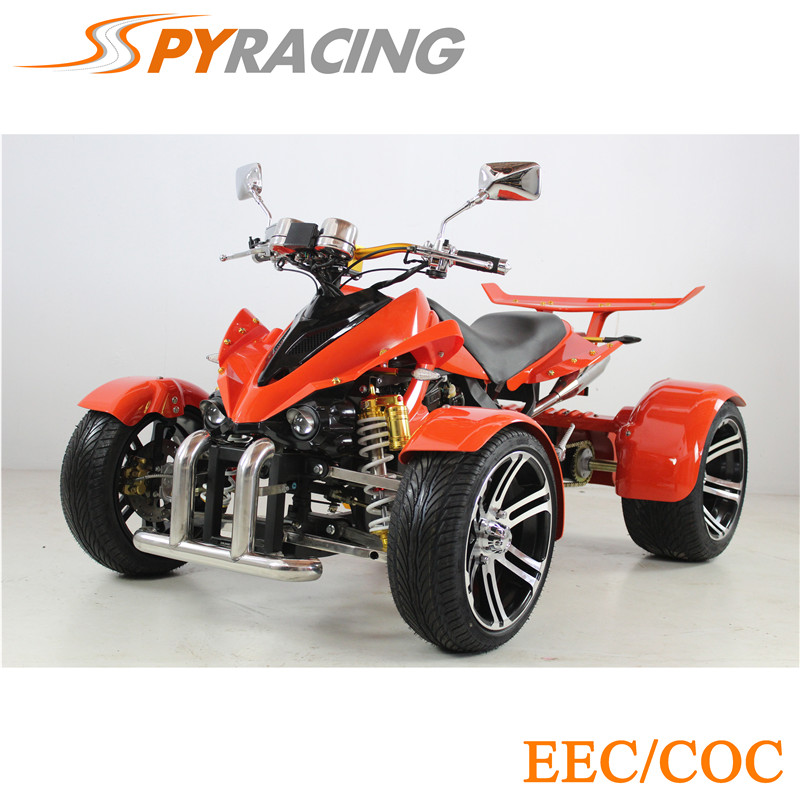 SPY250F1 QUAD FOR HOT SALE (250cc) China Best PriEEC&COC 250cc Gas Powered Four Wheel Bicycle