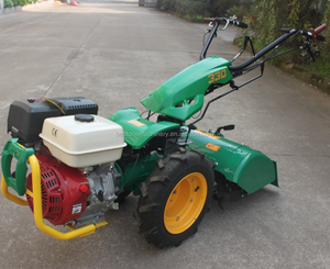 Gasoline 9HP Mini 2 Wheel Farm Walking Tractor