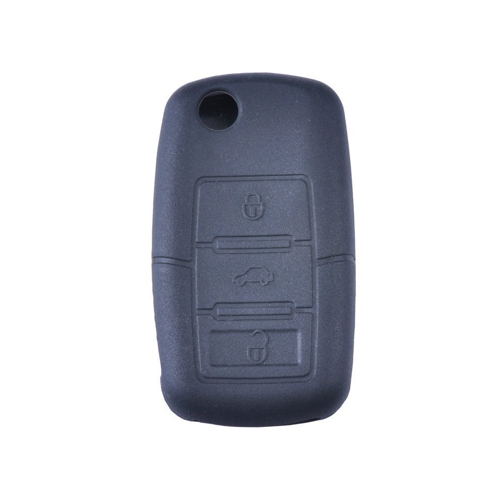 Buy Tofnk Black Remote Silicone Bag Fob Key Case Holder Cover Kia Skin Covers Replacement For