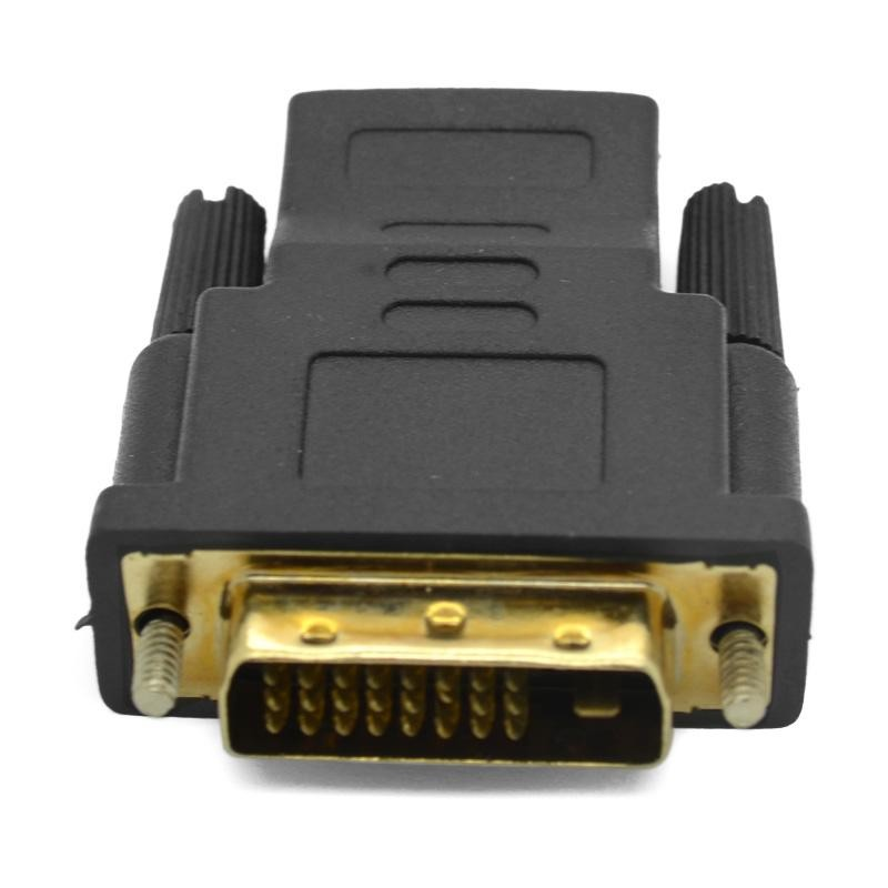 V1.4 24+1 DVI Male to Female Type A M-F HDMI DVI-D Adapter Converter convertor Connector For LED DISPLAY HDTV free DHL