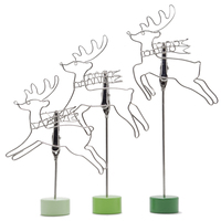 fashionable Small deer reindeer fashion note pad holder