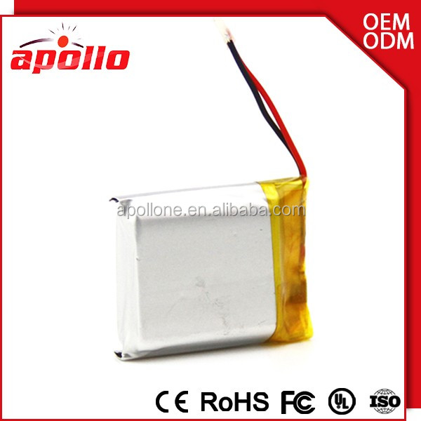 893751 Smart rechargeable lithium 3.7v 2100mah li-ion polymer battery for LED