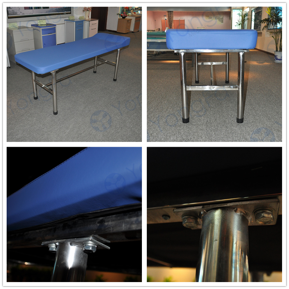 YFC-005 Stainless Steel Medical  Examination Couch