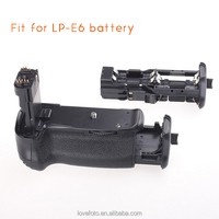 Battery Grip for CANON 60D 60Da DSLR Camera Replacement BG-E9 with Infrared Remote Control