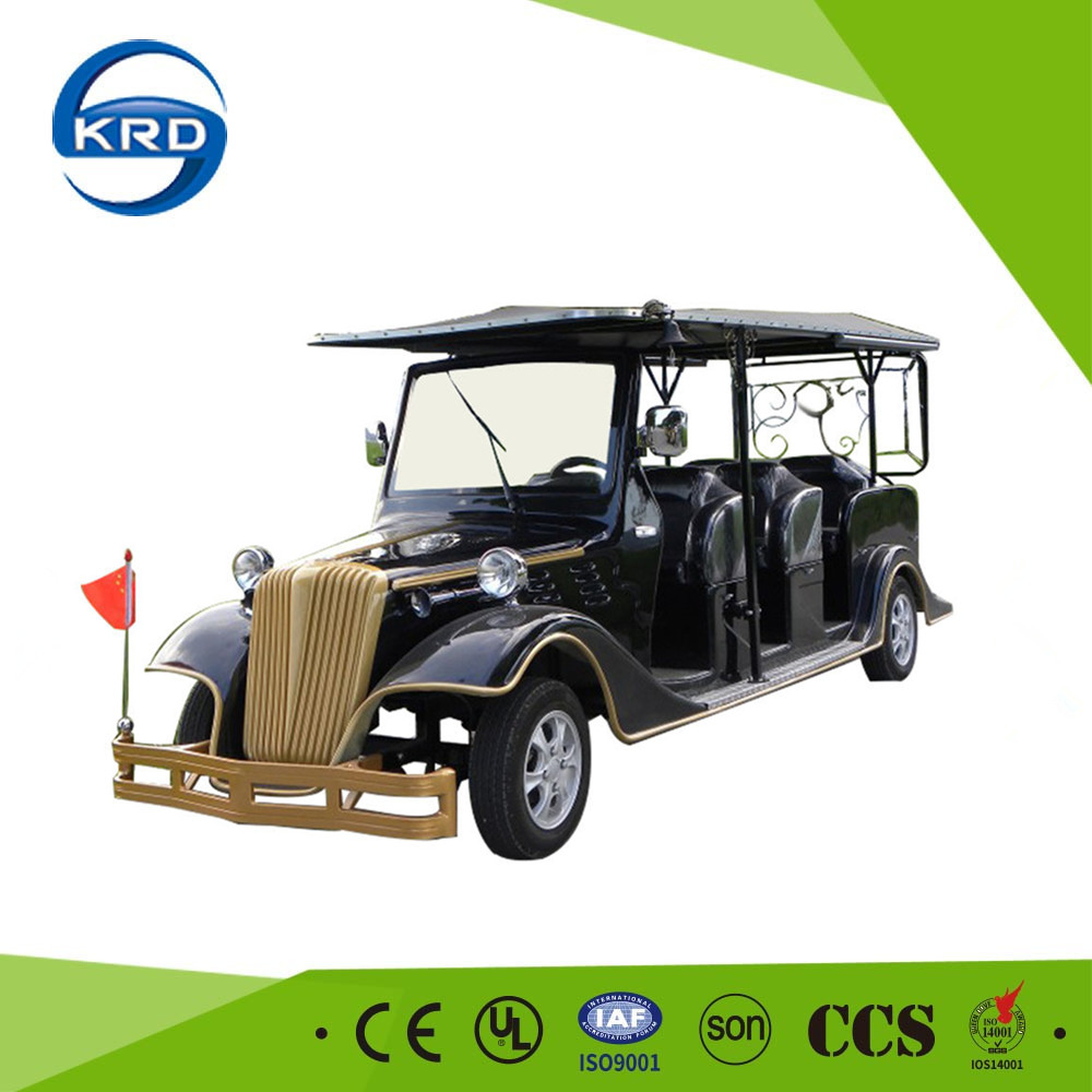Luxury design 8 person adult electric classic car for villas upscale clubs golf courses parks
