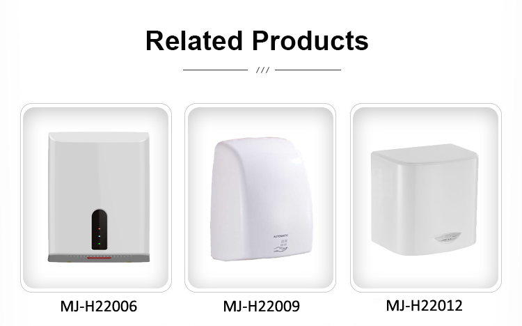 Commercial Infrared Sensor Hand Dryer Automatic High Quality Plastic Hot Cold Air Smart Gold Free Spare Parts Household 1 YEAR
