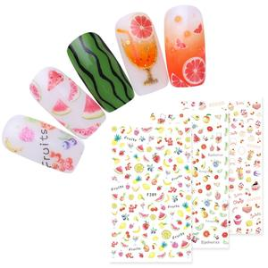 1 Sheet Summer Fruit Series 3D Nail Sticker Decoration