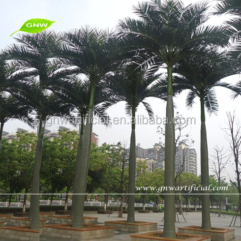 GNW APM020-2 Wholesale outdoor palm tree large artificial palm tree