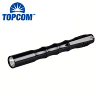 Hot Sale Engraved LED Work Flashlight Clip Cute Pen Light