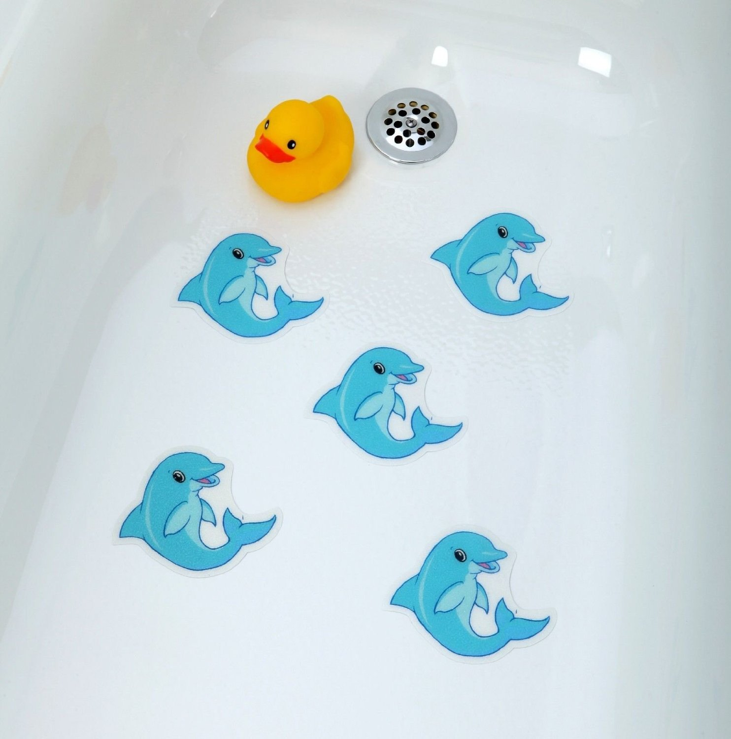 Charmant Get Quotations · [Dolphins] Bathtub Stickers Safety Decals Treads Non Slip  Anti Skid Shower Applique