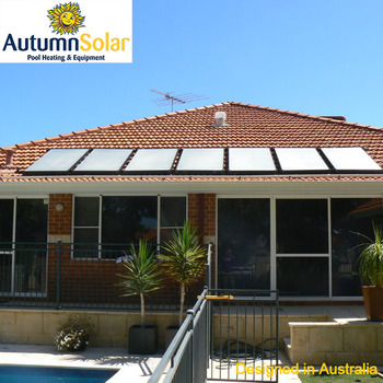 Solar-warmwasser-system Poolheizung,Dach Integrierte Solar-kollektor ...