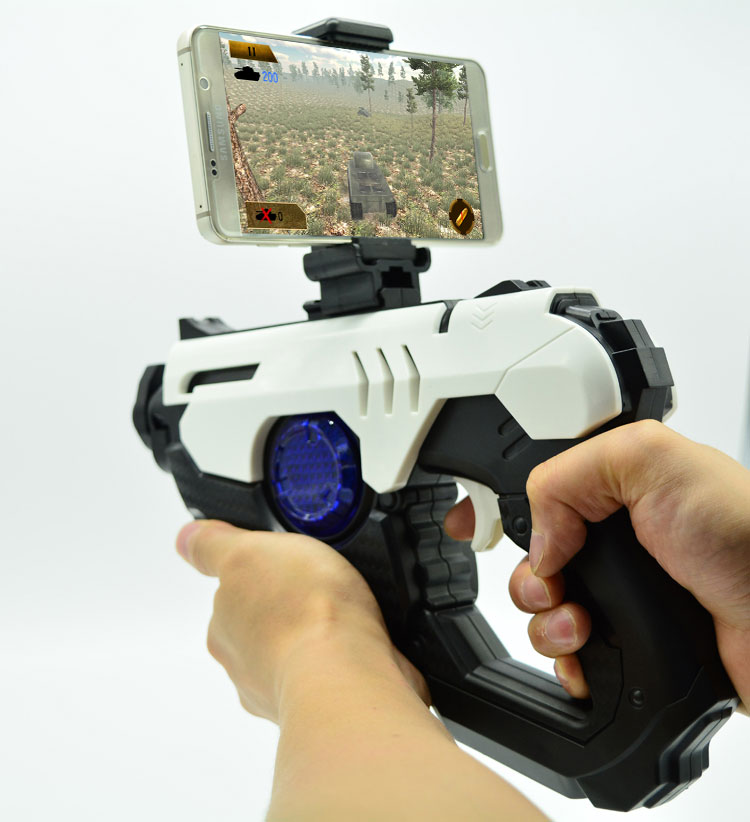 Shooting Game joystick smart Bluetooth 3D AR VR <strong>Gun</strong> for all cell phones