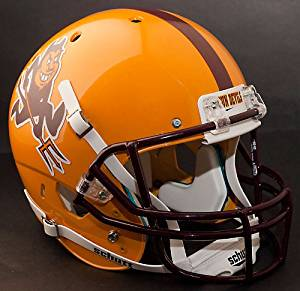 ARIZONA STATE SUN DEVILS 1996-2010 Schutt AiR XP Authentic GAMEDAY Football Helmet ASU