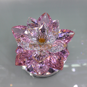 Wedding Or Birthday Gifts For Her Luxury Pink Crystal Lotus Liquid Air Freshener Car