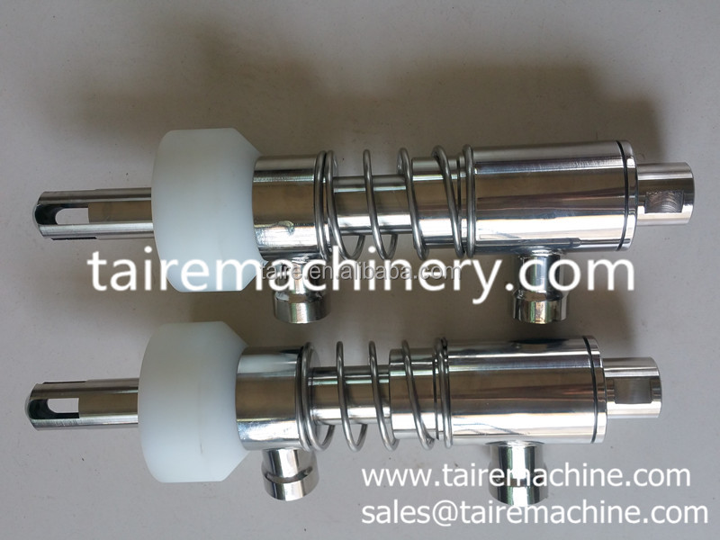 filling nozzle / filling valve / filler / filling parts / fill parts / fill unit /machine parts