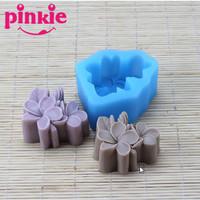 eco friendly flower shaped silicone rubber molds for handmade saop