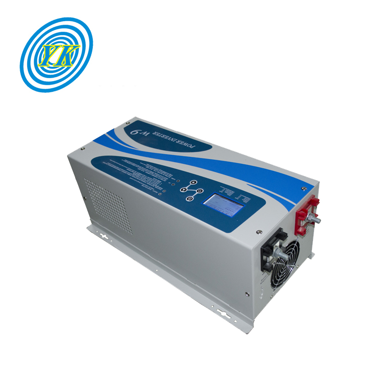Wall-mounted 1kw 2kw 3kw 4kw 5kw 24Vdc to 220Vac pure sine wave inverter charger