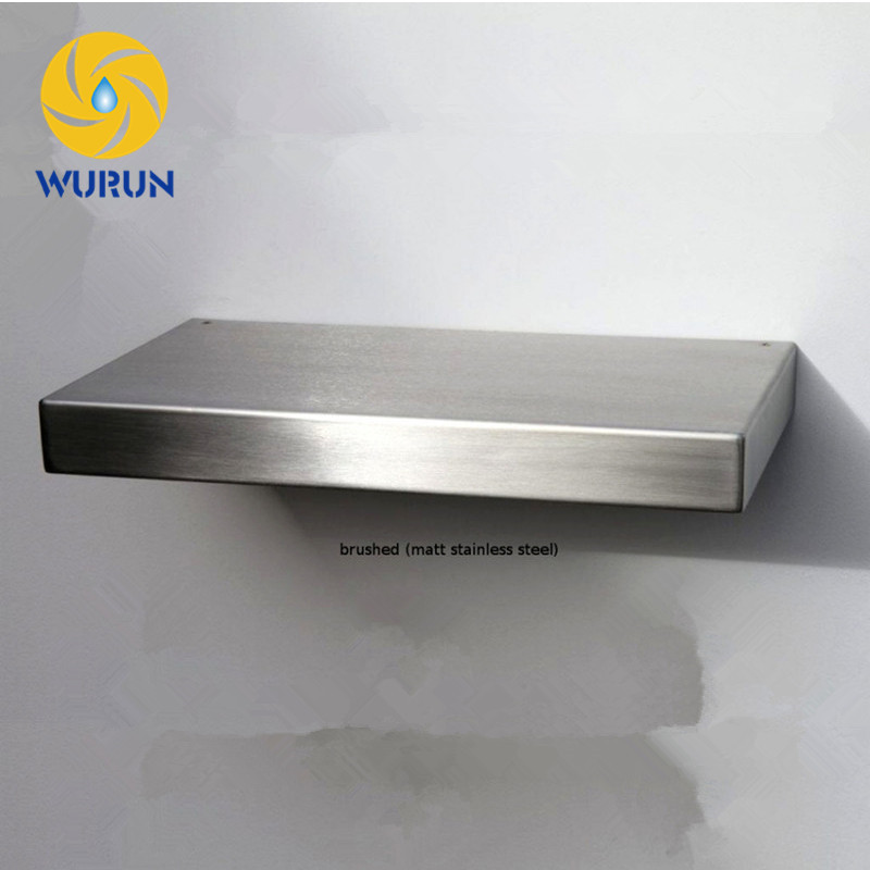 Unique Door Removable Stainless Steel Bathroom Metal Wall Mount <strong>Shelf</strong>