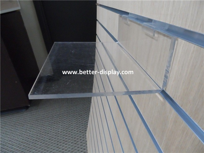 wholesale clear acrylic plastic wall mounted shoe racks