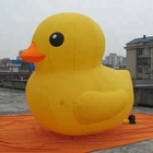 3m large inflatable yellow duck for event, Advertising floating duck inflatable yellow duck for promotion,inflatable cartoon