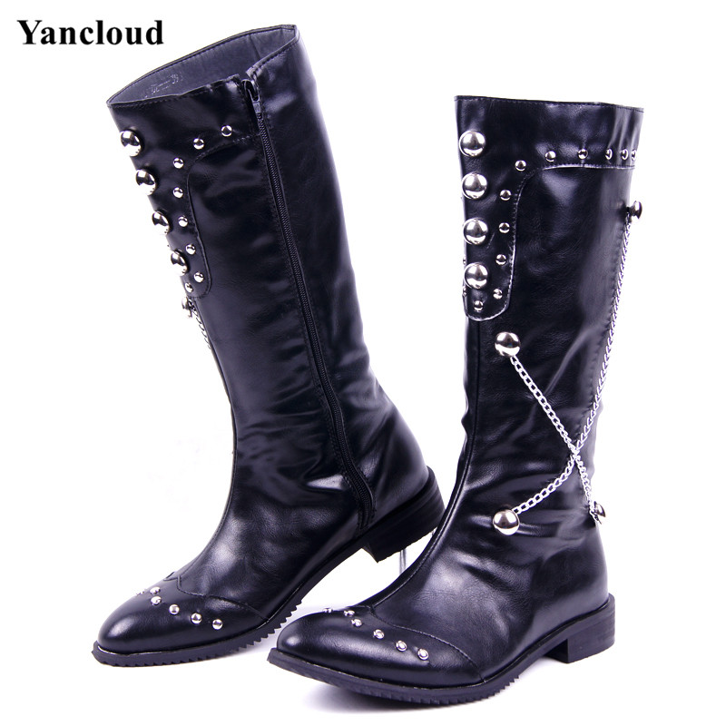 Popular Punk Rock Boots For Men Buy Cheap Punk Rock Boots