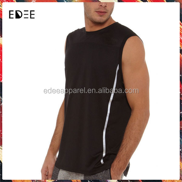 New Arrival Fashion Design Gym Vest Manufacturer Vest Top Mens Cotton Jersey Vest