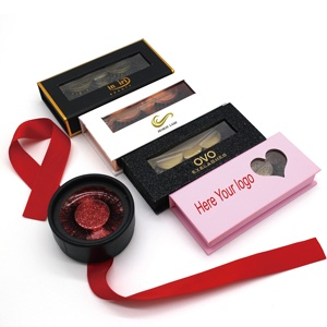 Charming Styles False Eyelashes 3D Mink Lashes With Eyelash Packaging Box Custom