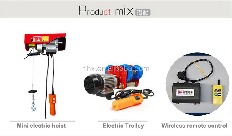 Small Overhead Portable Electric Hoist Construction Lift Pulley Mini Rope  Hoist - Buy Construction Lift Pulley,Mini Electric Hoist,Construction Lift