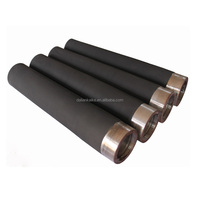 Precision rubber rollers for tissue and towel converting applications