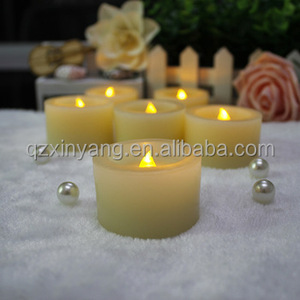 Battery Remote LED Diwali Decoration Diya & White Tea Scented Candle