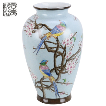 Best Price Chinese Traditional Mirror Vase Show Pieces China Flower