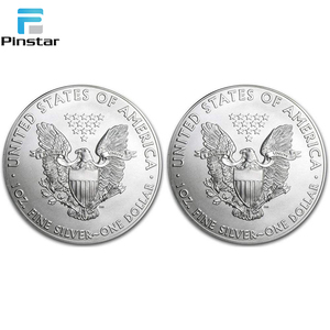 High level quality coins Factory custom silver coin packing