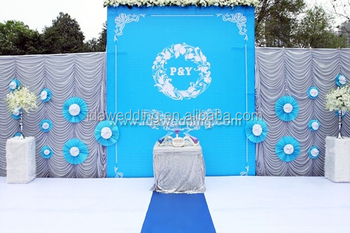New Design Wedding Backdrop Fabric Indian Backdrops Curtains