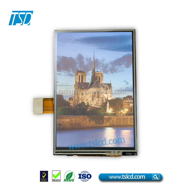 Hot Sale Tft Lcd Display With MCU Command Set For Car Dashboard 3.5 Inch 480x320 Lcd Screen