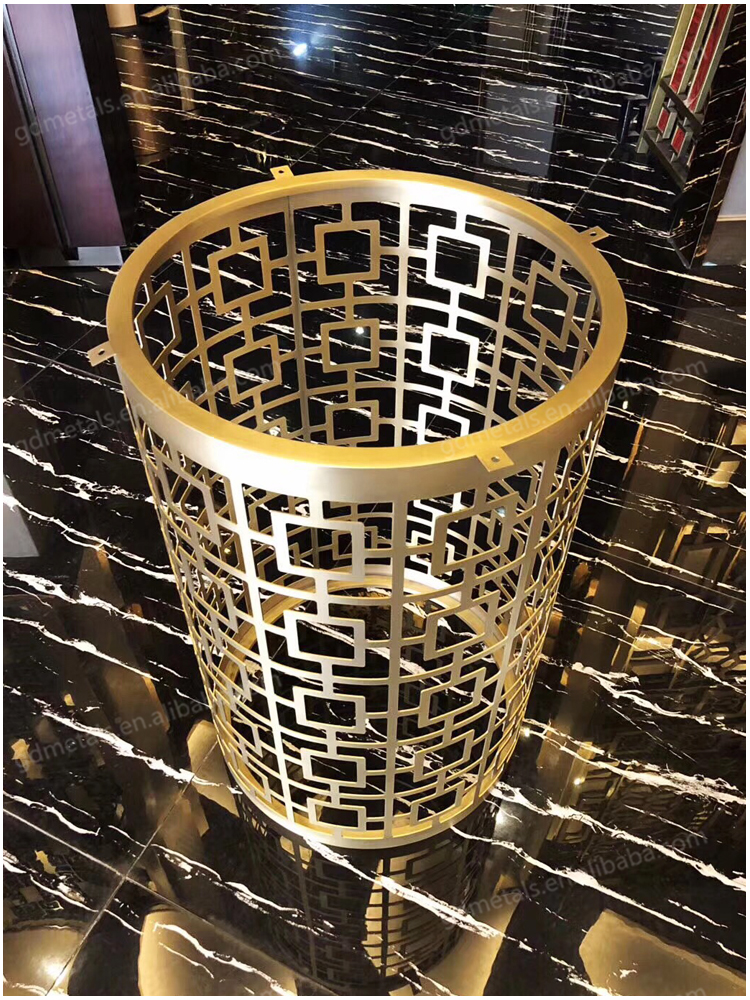 Luxury Modern Furniture Custom Designs Stainless Steel Pedestal Table Base.