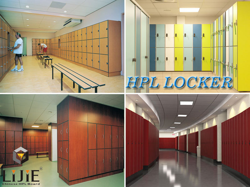 Lijie Cheap Hpl Compact Laminate Formica Hpl Locker Cabinet For Gym Swimming  Pool Changing Room Part 40