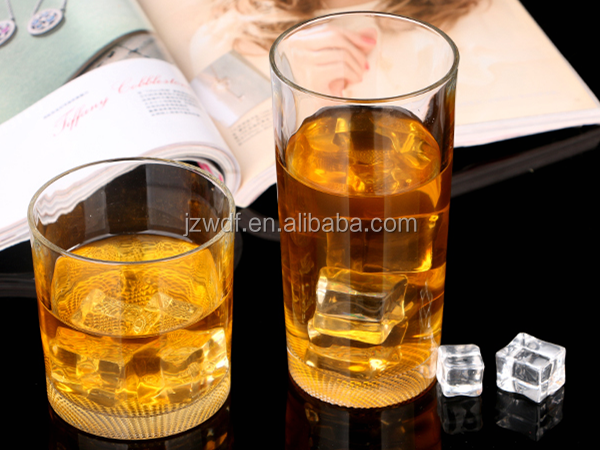 Wholesale china glassware clear liquor cup, whisky alcohol liquor glasses cup