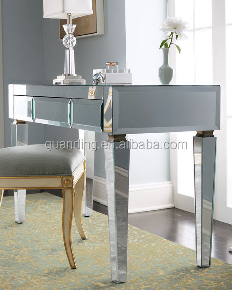 morden cheap stand up writing office mirror desk