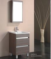 Assembled package cheap single bowl bathroom vanity