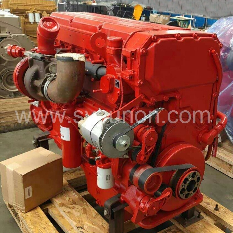 Made In USA Oilfield Equipment QSX15 Diesel Engine Assembly 510HP Large Capacity Power Engine