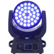 Factory Directly 36x10w 4in1 wash rgbw quad led moving head light