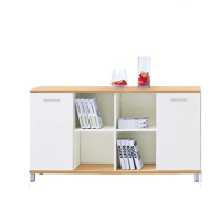 Good quality office furniture white simple design wood Shelving cabinet