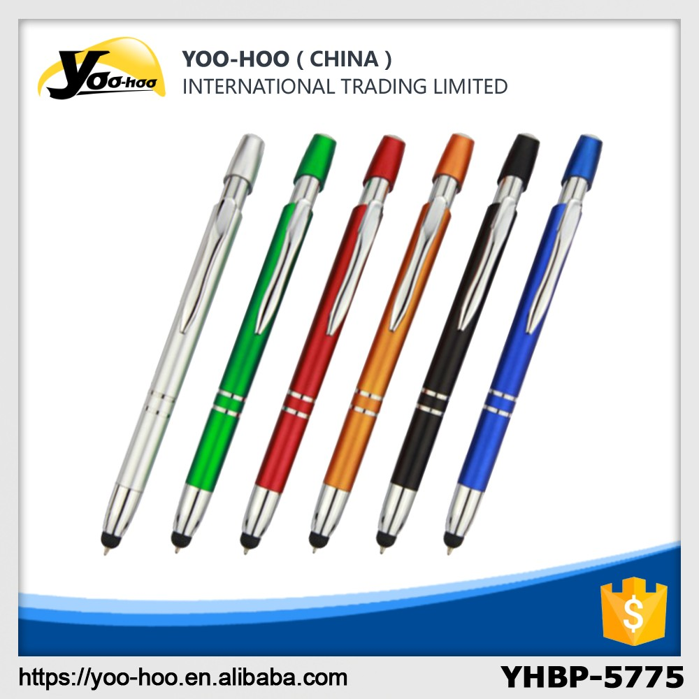 Color touch ball pen for iphone and ipad
