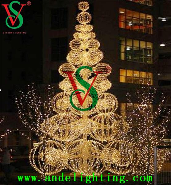 Outdoor Led Tree Lights/pre Lit Christmas Trees Led Lights